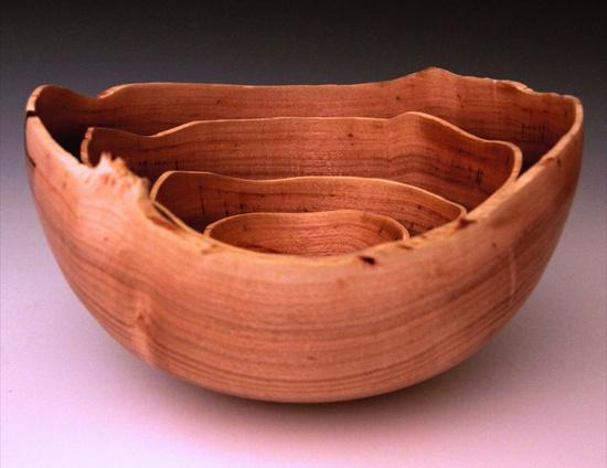 Nested bowls by Matt Monaco