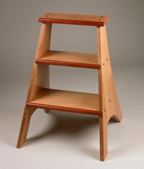 205_stepladder & 205 Oak Step Ladder Plan | David J. Marks islam-shia.org