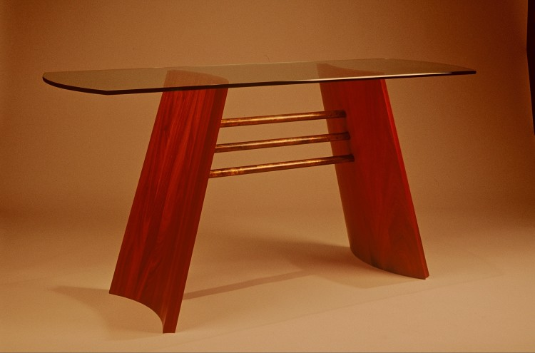 509 Coopered Hall Table