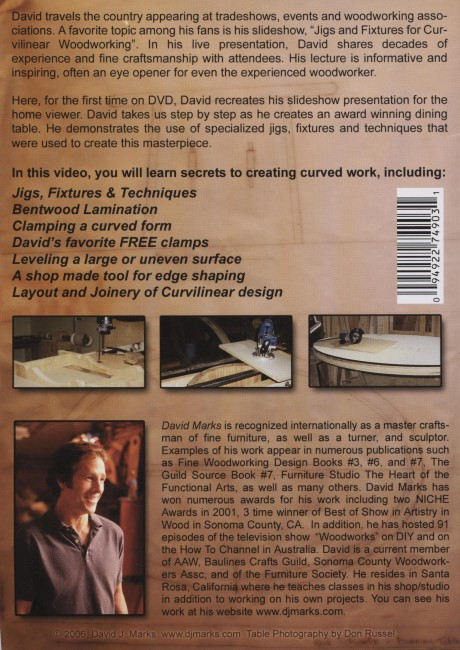 Jigs DVD Back Cover