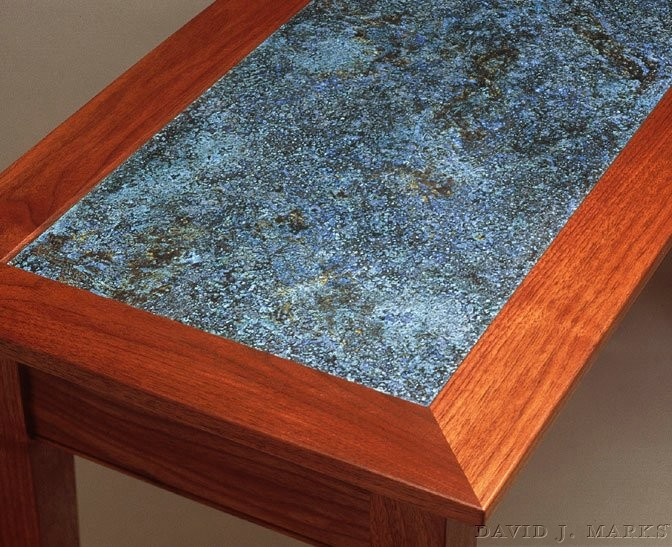 WoodWorks Episode 111 Copper Top Hall Table