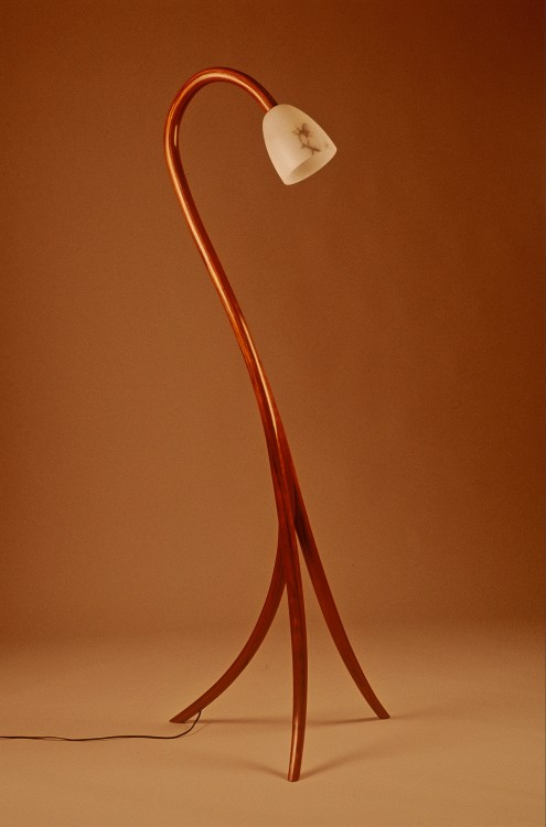 512 Contemporary Bent Laminated Lamp