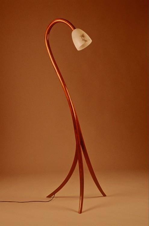 512 Contemporary Bent Laminated Lamp