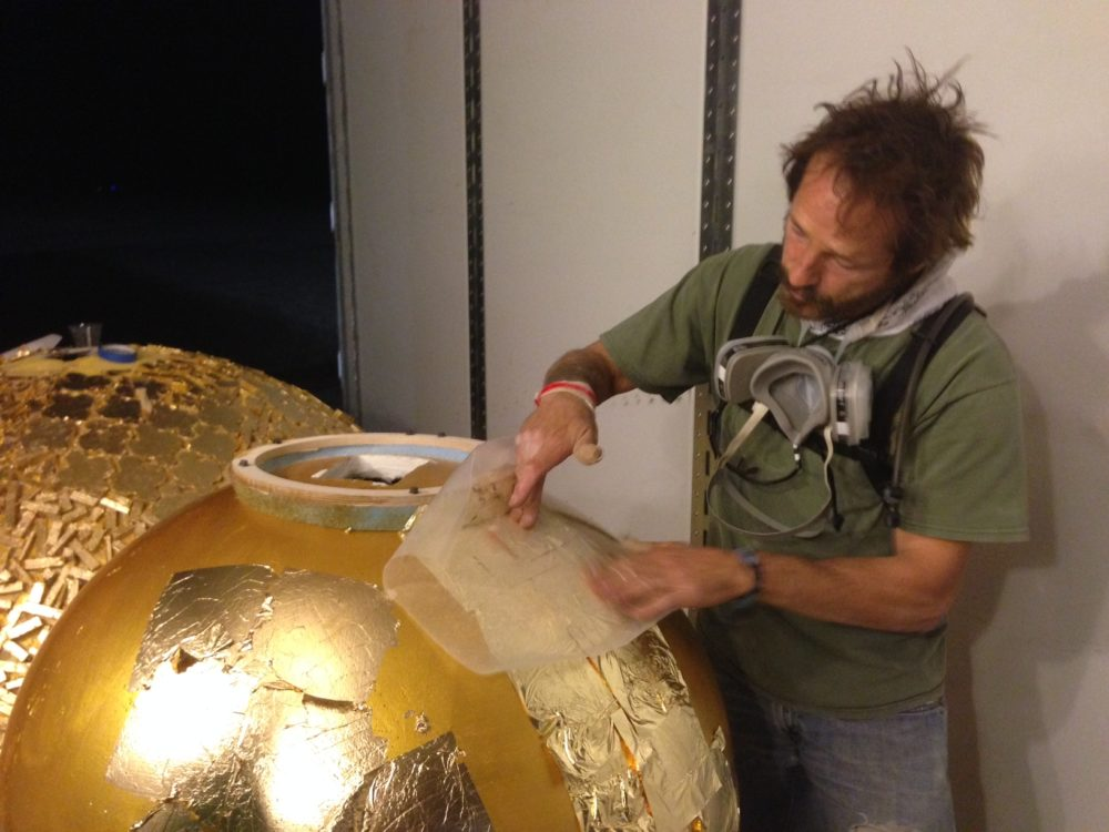 David gold leafing domes